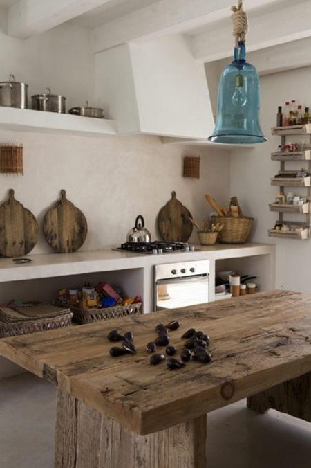 Rustykalne Kuchniearanżacje Kuchennekuchnia Zdjęcie W