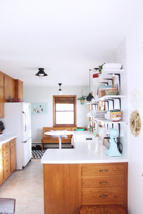Otwarte Półki Które Dodają Kuchni Lekkości I Zwiększają