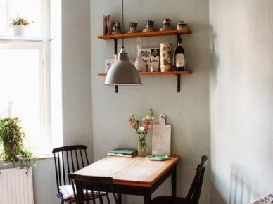 Aranżacja Kuchni Z Jadalnią W Rustykalnym Stylu Zdjęcie W