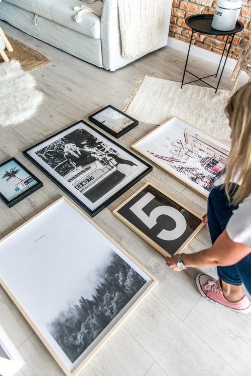 Jak zrobić domową galerię ścienną?Kilka sprytnych tricków