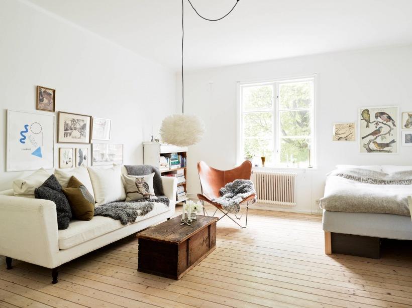Jak Urządzić W Jednym Pokoju Salon I Sypialnię Zdjęcie W