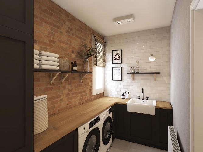 Jak będzie wyglądała pralnia w naszym nowym domu?