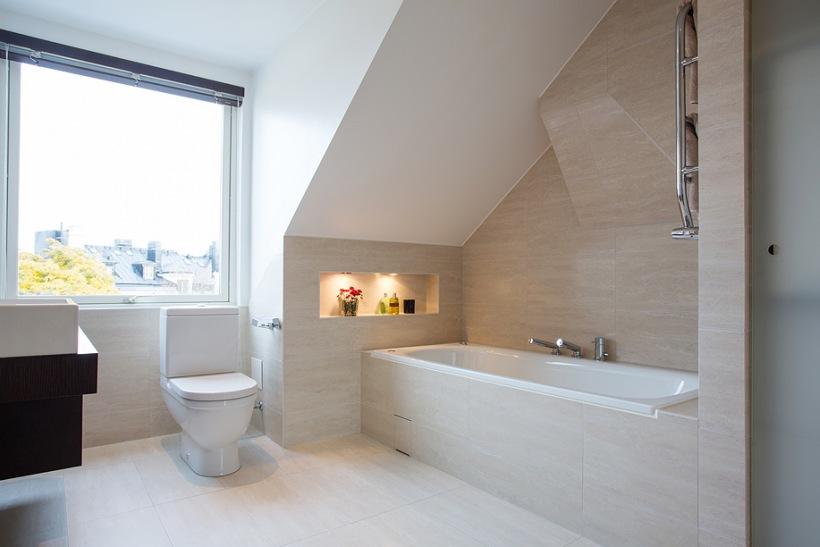 Aranżacja łazienki Na Poddaszu Inspiracje Zdjęcie W
