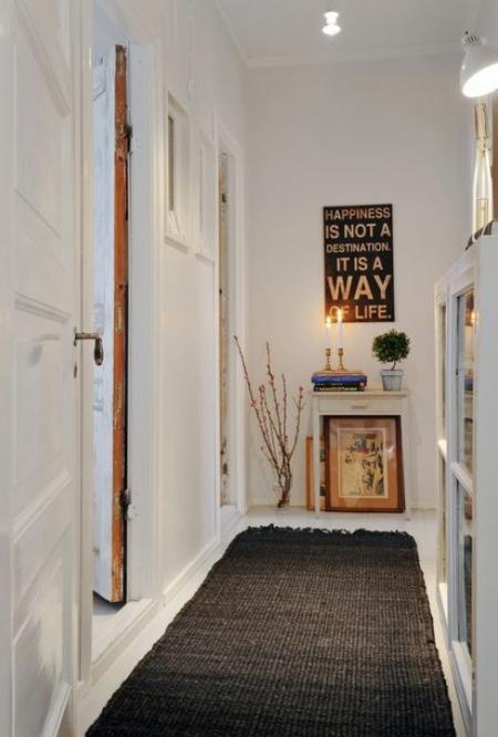 Oryginał Wąski przedpokój,biały przedpokój,korytarz,jak - zdjęcie w DK68