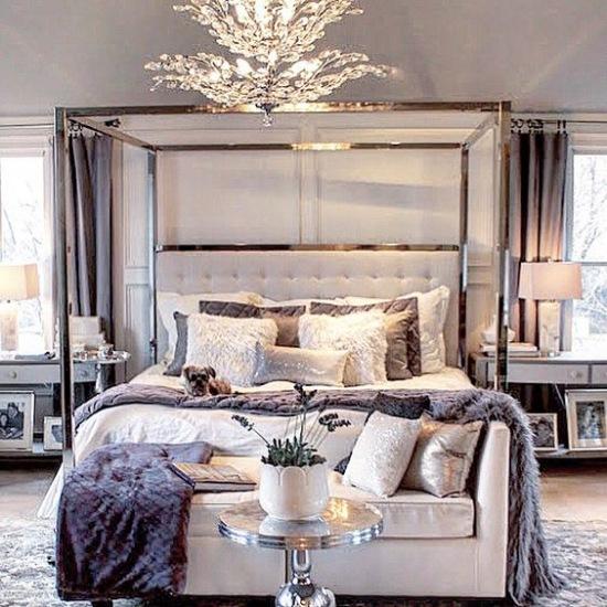 Sypialnia W Stylu Glamour Zdjęcie W Serwisie Lovingitpl