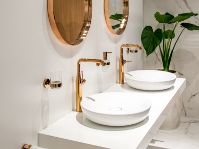 Kolorowe Krany Do łazienki Zdjęcie W Serwisie Lovingitpl