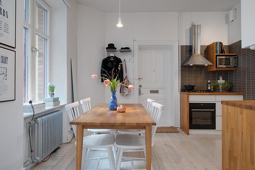 Otwarta Kuchnia Z Jadalnia W Mieszkaniu Bez Zdjecie W Serwisie Lovingit Pl 22626