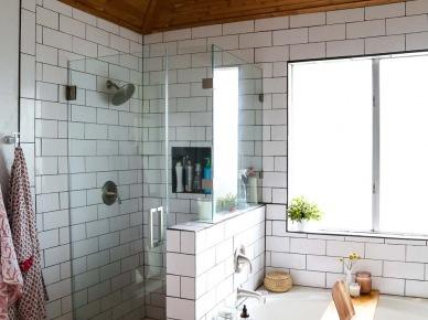 Tag Drewniany Sufit W łazience