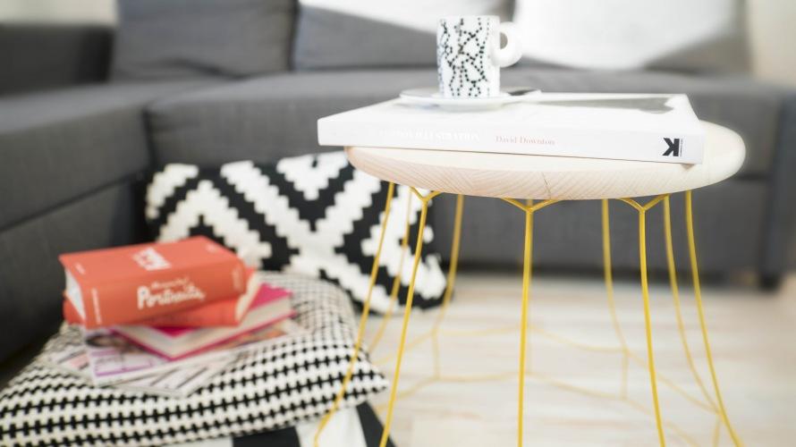 Jak zrobić stolik kawowy ze starego klosza od lampy?