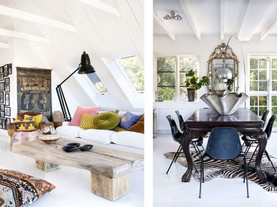 Vintage and Ethnic house by designer and interior Marie Olsson (5395)