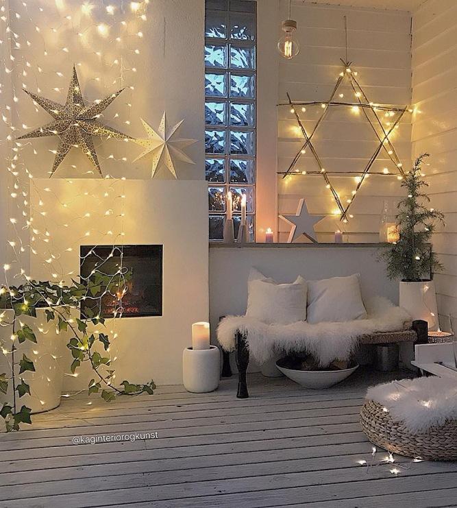 Jak Udekorować Salon Oraz Sypialnię światełkami I Dodatkami