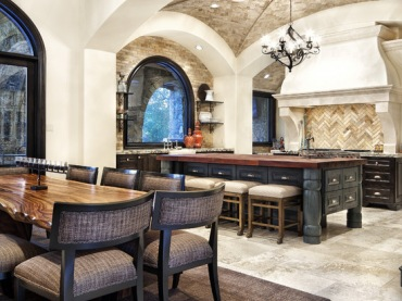Mediterranean Kitchen Photos Design, Pictures, Remodel, Decor and Ideas (301)