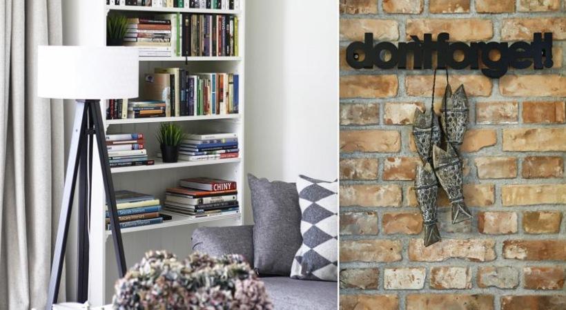 Domowa biblioteczka i dekoracje w salonie zdj cie w for Biblioteczka w salonie