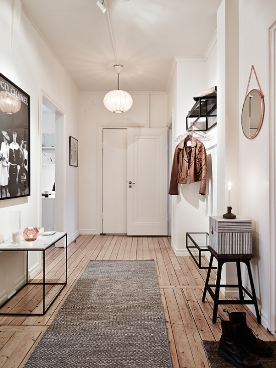 Aran acja przedpokoju jak urz dzi przedpok j drewniana for Idee ingresso casa moderna