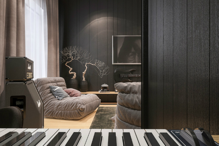Zaslony salon