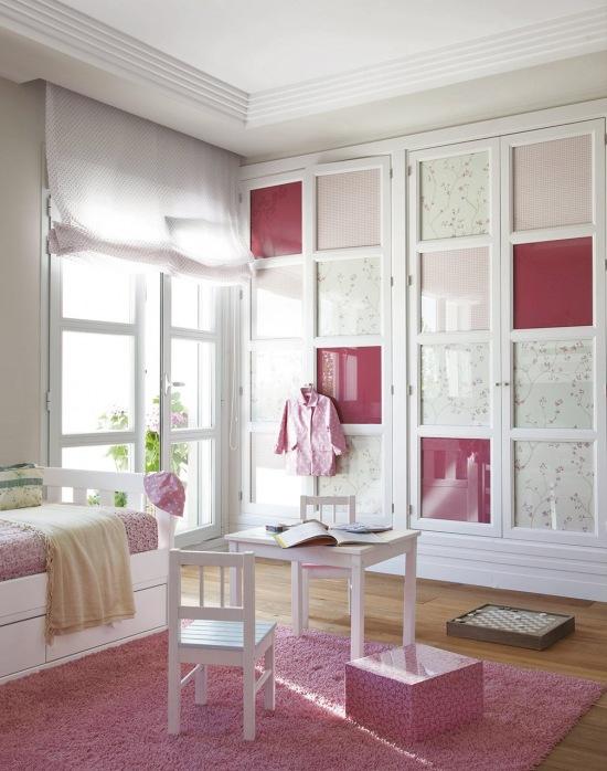 Biało-różowa aranżacja dziecięcego pokoju - zdjęcie w serwisie Lovingit.pl (20263)