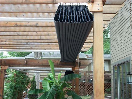 Zwijane zadaszenie na tarasie zdj cie w serwisie for Cheap roof covering