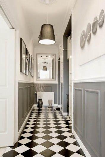 szara lamperia w stylu angielskim posadzka zdj cie w serwisie 47833. Black Bedroom Furniture Sets. Home Design Ideas