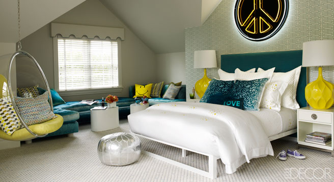Decorating a teen room fashionista