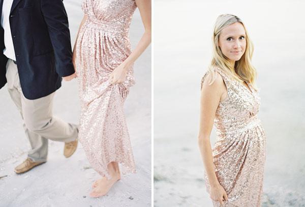 15dda2146a Wieczorowa suknia ciążowa - zdjęcie w serwisie Lovingit.pl (1120)
