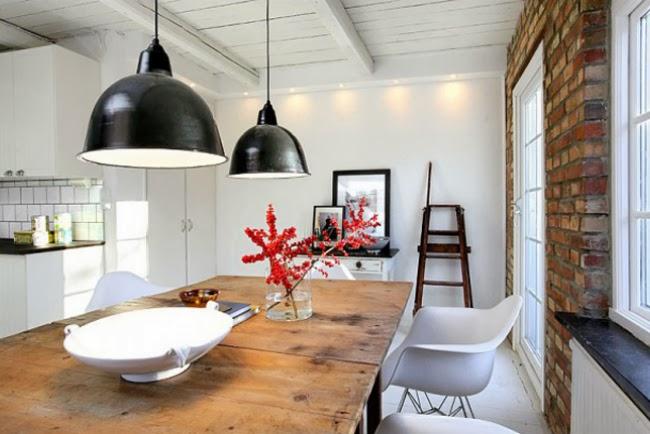 czarne emaliowane lampy drewniany industrialny zdj cie w serwisie 21636. Black Bedroom Furniture Sets. Home Design Ideas