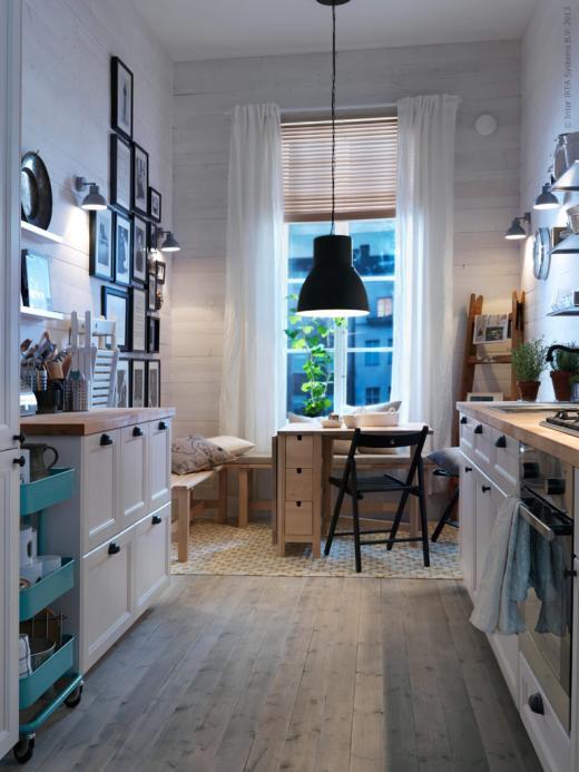 Biała kuchnia ikea  zdjęcie w serwisie Lovingit pl (18603) -> Kuchnia Ikea Jakość