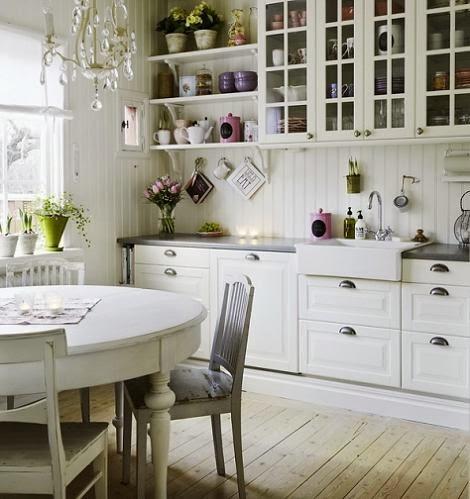 Wiejska Kuchnia W Skandynawskim Stylu Zdjecie W Serwisie Lovingit
