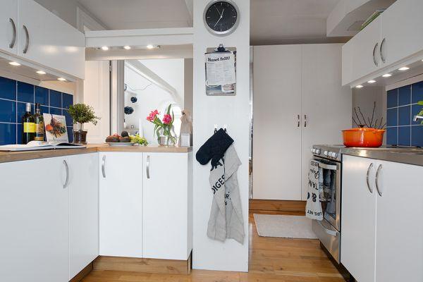 Mała Kuchnia Na Poddaszu Zdjęcie W Serwisie Lovingitpl