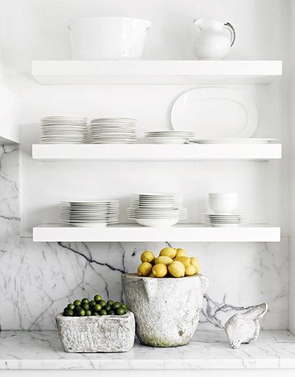 Białe Półki W Kuchni Zdjęcie W Serwisie Lovingitpl 43560