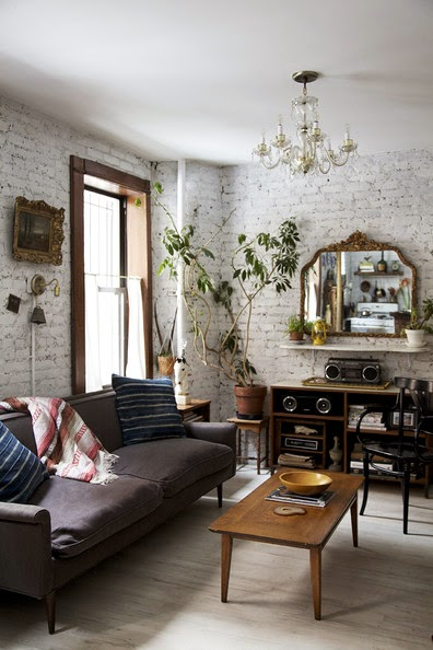 Skandynawska szara kanapa i rustykalne meble zdj cie w serwisie 22962 - Camera studio arredamento ...