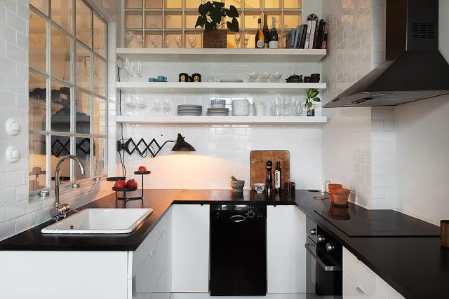 Jak Urządzić Małą Kuchnię Przy Otwartym Salonie Zdjęcie W Serwisie