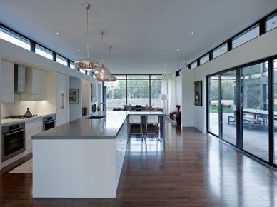 Bia o szara maroka ska mozaika w kuchni zdj cie w for Casa moderna rectangular