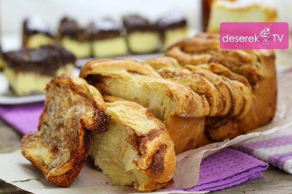 Obrywane Ciasto Drożdżowe Przepis Deserekt Zdjęcie W Serwisie