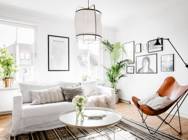 Granatowe dodatki do salonu zdj cie w serwisie lovingit for Deco interieur epure