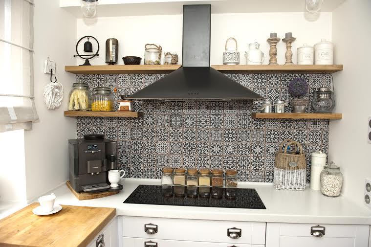 Kafelki marokańskie w kuchni  zdjęcie w serwisie Lovingit   -> Kuchnia Z Kafelki