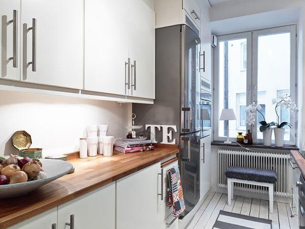 Aranżacja małej kuchni z oknem  zdjęcie w serwisie Lovingit pl (20650) -> Aranżacja Kuchni Z Niskim Oknem