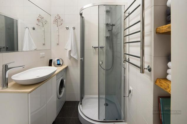 Pomysł na urzadzenie małej łazienki w białym - zdjęcie w serwisie Lovingit.pl (19628)