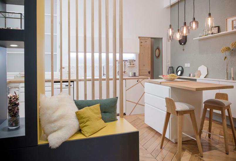 szaro ty przedpok j i bia a kuchnia zdj cie w serwisie 52582. Black Bedroom Furniture Sets. Home Design Ideas
