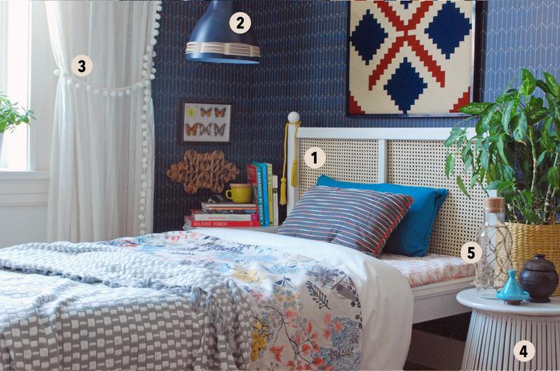 IKEA hacks w aranżacji sypialni - zdjęcie w serwisie Lovingit.pl (50706)