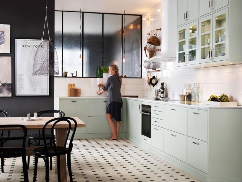 Kuchnia w kolorze miętowym  zdjęcie w serwisie Lovingit pl (20775) -> Kuchnia W Kolorze Mietowym