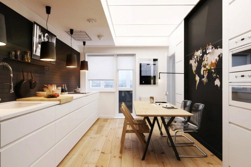 Piękna nowoczesna kuchnia z jadalnią  zdjęcie w serwisie Lovingit pl (20846) -> Nowoczesna Kuchnia Polączona Z Jadalnią