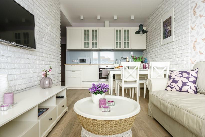 Pokój dzienny w stylu prowansalskim  zdjęcie w serwisie Lovingit pl (49919) -> Kuchnia I Jadalnia W Stylu Prowansalskim