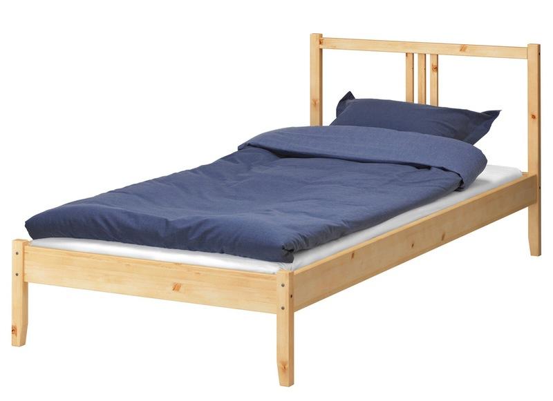 Drewniana Rama łóżka Ikea Zdjęcie W Serwisie Lovingitpl
