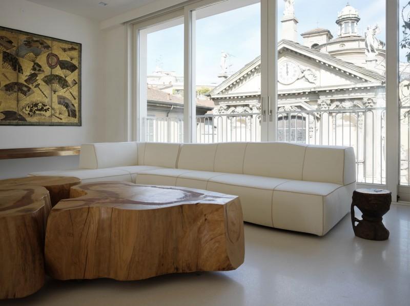 Oryginalne Drewniane Stoliki Kawowe Zdjęcie W Serwisie