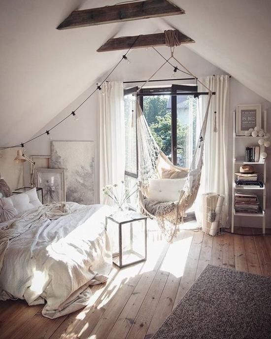 Boho Bedroom Pallet Bed